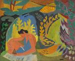"""André Lhote, """"La Lecture, ca 1942"""", CHF 120'000, November 2010"""