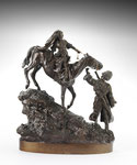 VASSILY YACOVLEVITCH GRATCHEV, Kosak ein Pferd führend, CHF 16'800, Juni 2011
