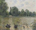 Camille Pissarro, Pièce d'eau à Kew, CHF 780'000, Juni 2010