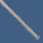 Diamant-Saphir-Bracelet Platin, Art Déco, CHF 18'000, November 2013