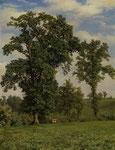 ROBERT ZÜND, Weide mit Eichbäumen, CHF 228'000, Juni 2014