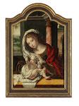 Frühe Kopie nach JAN GOSSAERT genannt MABUSE, Maria mit Kind, CHF 21'600, Juni 2015