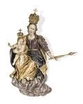 Art der DEUTSCHE SCHULE 17./18. JH., Madonna mit Kind auf einer Wolke, CHF 6'000, Juni 2015