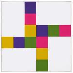 """Richard Paul Lohse, """"Zwei und zwei gleiche Farbgruppen"""", CHF 40'800, November 2012"""