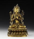 Maitreya-Buddha der Zukunft, Tibet, 17. Jh., CHF 76'800, June 2004