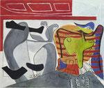 Le Corbusier, Jambes et femme oiseau, CHF 98'400, November 2012