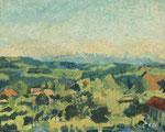 CUNO AMIET, Landschaft, CHF 106'300, November 2007