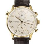 "Herrenarmbanduhr der Marke IWC ""Portugieser Chronograph Rattrapante"", 18K GG, CHF 18'600, Juni 2015"