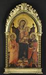 ROSSELLO DI JACOPO FRANCHI, Thronende Madonna mit Kind im Beisein der Heiligen Ansanus und Julianus, CHF 383'000, November 2011