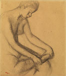 EDGAR DEGAS, Danseuse assise, CHF 42'000, June 2014