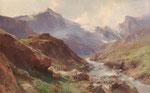 EDWARD THEODORE COMPTON, Motiv aus den Hohen Tauern in Österreich, CHF 33'600, June 2014