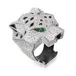 "Brillant-Farbstein-Ring 18K WG, ""Panthère"" von Cartier, CHF 110'000, November 2015"