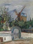 MAURICE UTRILLO, Le Moulin de la Galette à Montmartre, CHF 108'000, November 2014