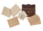 """JOHANNES BRAHMS, Original Manuskript Partitur """"Variationen"""" über ein Thema op. 23., CHF 81'600, Juni 2014"""