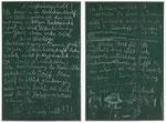 Joseph Beuys, Zwei Schiefertafeln der dokumenta 5, CHF 84'000, Juni 2013