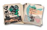"""LE CORBUSIER eigentlich CHARLES-EDOUARD JEANNERET, Portfolio """"Le Poème de L'Angle Droit"""", CHF 36'000, June 2014"""