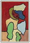 GASTON CHAISSAC, Composition à 12 couleurs, CHF 54'000, November 2013