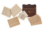 """JOHANNES BRAHMS, Original Manuskript Partitur """"Variationen"""" über ein Thema op. 23., CHF 81'600, June 2014"""