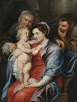 Werkstatt PETER PAUL RUBENS, Heilige Familie mit der hl. Anna, CHF 74'400, November 2012
