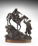 VASSILY YACOVLEVITCH GRATCHEV, Kosak ein Pferd führend, CHF 16'800, June 2011