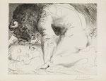 "PABLO PICASSO, ""Minotaure caressant une Dormeuse"", CHF 33'600, June 2016"