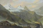 CASPAR WOLF, Blick von Breitlauinen gegen den Breithorngletscher, CHF 117'600, November 2014