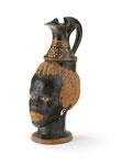 Oinochoe mit negroidem Kopf, apulisch, wohl 4. Jh. v. Chr., CHF 150'000, June 2013
