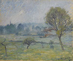 Camille Pissarro, Brouillard à Éragny, CHF 320'000, June 2010
