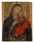 VENEZIANISCHE SCHULE UM 1400, Madonna mit Kind, CHF 48'000, Juni 2014