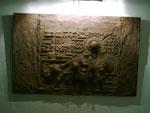 Village - 110 * 70 cm - Sandstein auf Holz
