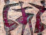 Acryl auf Papier     70 x 50 cm     2009