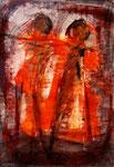 Acryl auf Papier     100 x 70 cm     1997