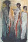 Acryl/Collage auf Leinwand     100 x 150 cm     1996