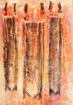 Acryl auf Papier     60 x 40 cm     1999
