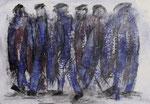 Acryl auf Papier     70 x 100 cm     1997