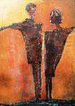 Acryl/Collage auf Leinwand     100 x 150 cm     2000