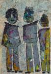 Acryl auf Papier     50 x 70 cm     2009