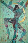 Acryl auf Leinwand     70 x 100 cm     2008