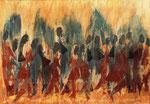 Acryl auf Papier     70 x 100 cm     1995