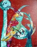 Acryl auf Papier     100 x 150 cm     2009