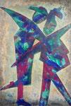 Acryl auf Leinwand     100 x 150 cm     2008