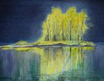 Lichtblick - Aquarell 35x45 cm