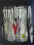 Einsamkeit - Acryl auf Leinwand 40x30 cm verkäuflich
