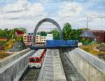 November Baustelle Bahnhof von Ingo Wendt