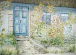 Haus bei Schleswig - Aquarell 30x40 cm