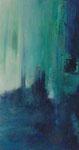 Norwegische Impression 1 - Acryl auf Leinwand 60x30 cm verkäuflich