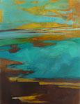 Eiskalt - Acryl auf Leinwand 70x50 cm verkäuflich