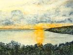Sonnenaufgang am Limfjord