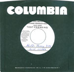 Hello Hurray / Alma Mater - USA -Test Pressing - Columbia - Sleeve