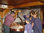 Käseherstellung im Saanenland